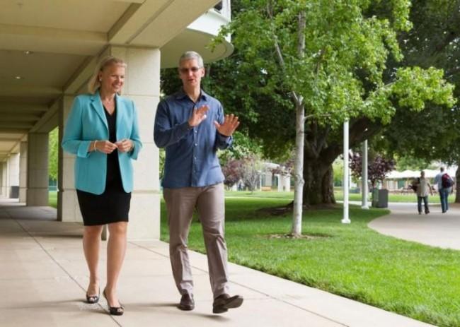 Apple и IBM заключили сотрудничество
