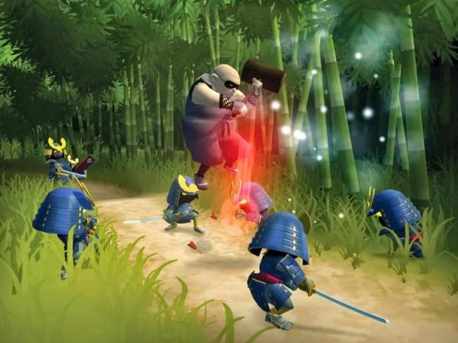 игра Mini Ninjas