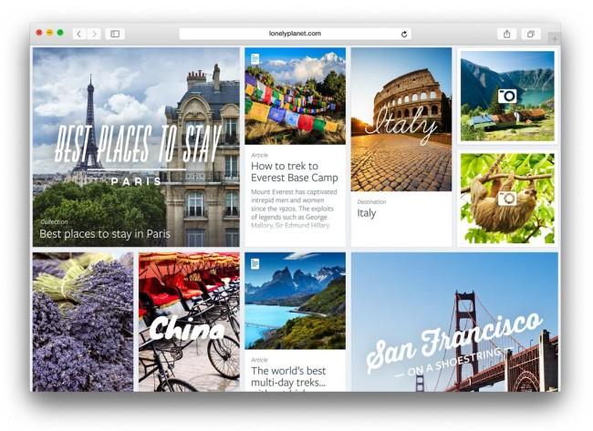 Прозрачные панели интерфейса OS X Yosemite
