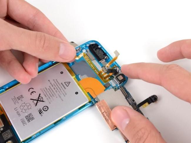 внутри iPod Touch 5G