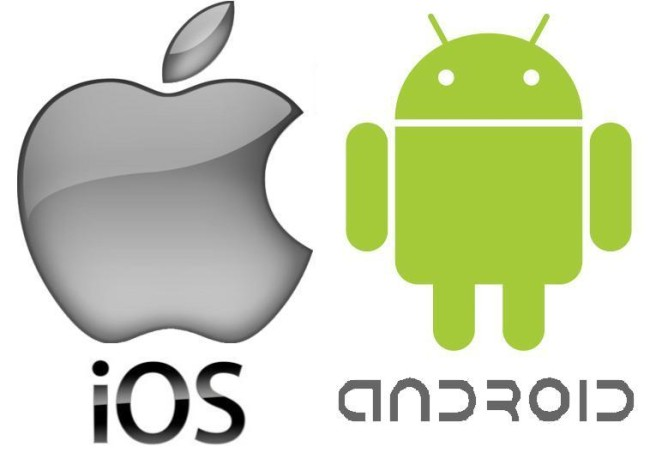 Логотипы iOS и Android