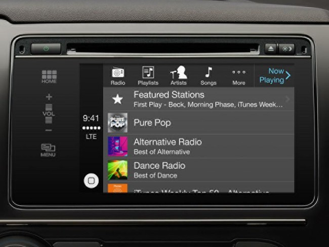обзор экрана CarPlay
