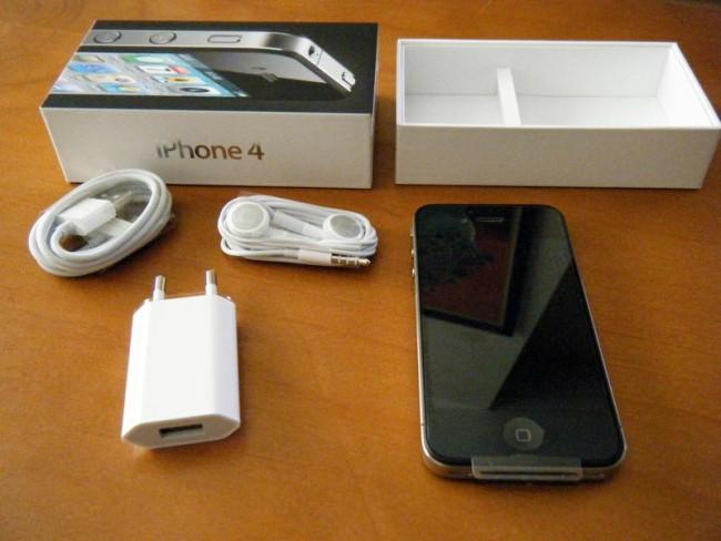 комплектация Iphone 4