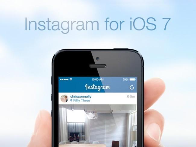 Instagram на iphone