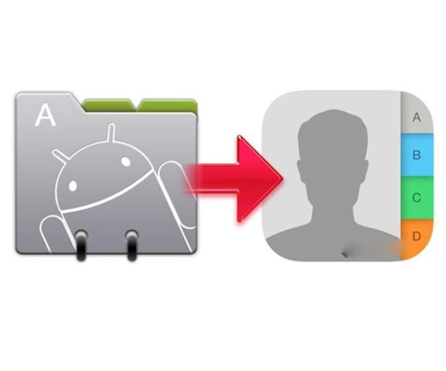 перенос телефонной книги с Android на iOS