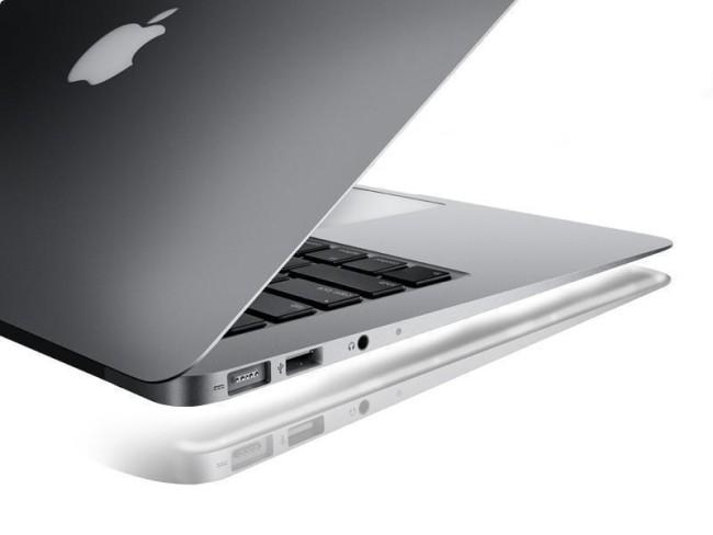 боковая панель ноутбука Apple