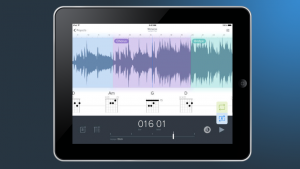 Программа Capo Touch 2.0, установленная на IPad