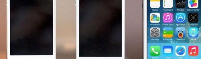 iPhone 6 с разнрй диагональю экрана