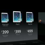 Новый iPad Air 2 на прилавках магазинов уже скоро