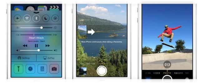 настройки камеры iPhone 5s