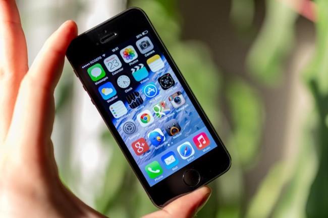 Экран в iPhone 5s