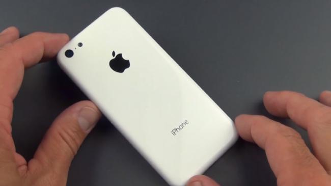 задняя панель iPhone 5c