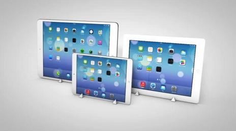 Дизайн планшетов Apple