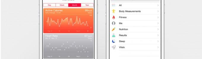 «Здоровье» на iPhone