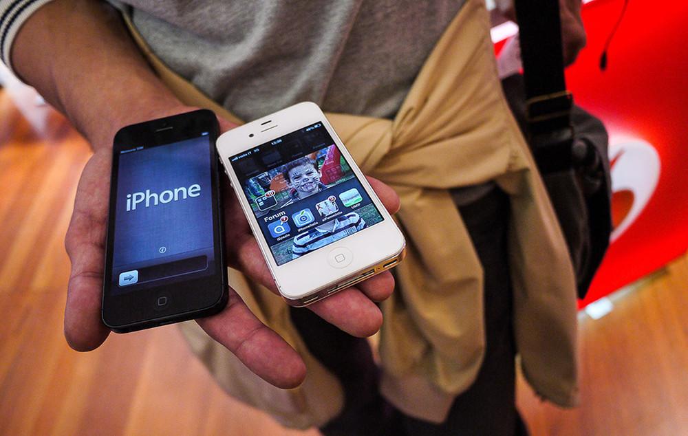 Время ожидания заказов iPhone 5s сокращается