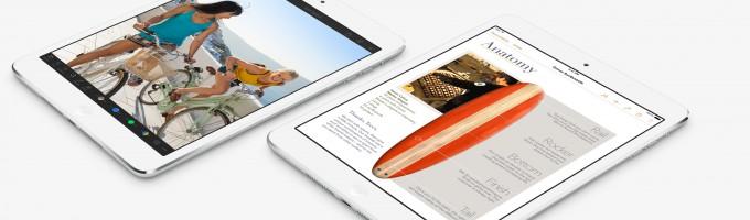 WSJ: Новый iPad 5 на базе A7X и iPad mini с Retina будут представлены 22 октября