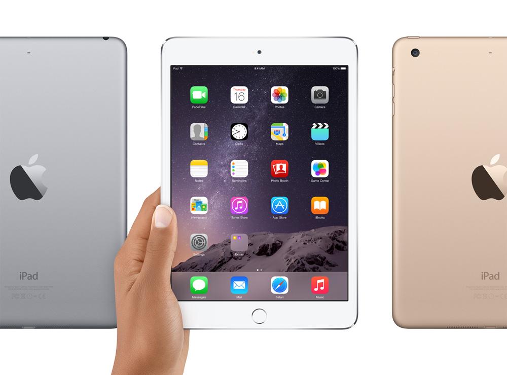 Apple проговорилась, что Touch ID в новых iPad не будет