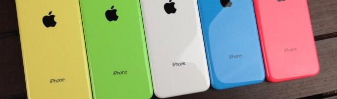 Apple сокращает производство iPhone 5C