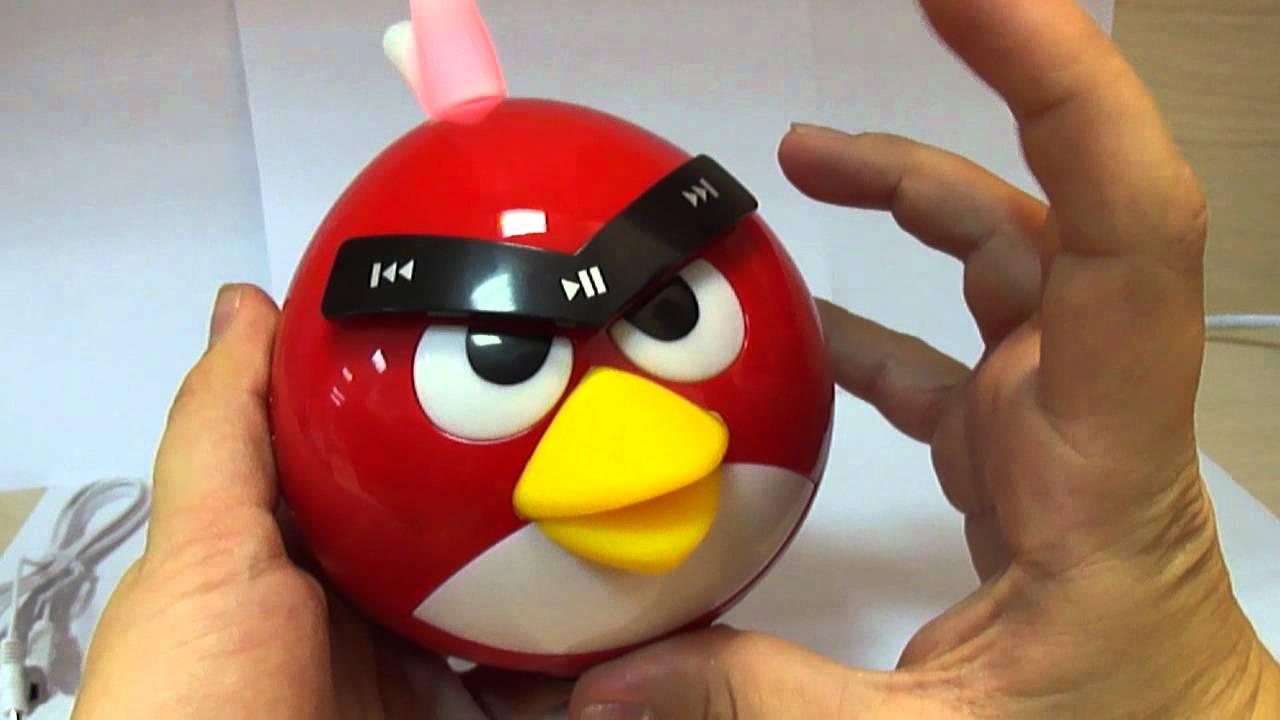 Колонки Angry Birds