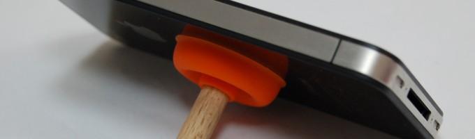Док станция для iPad — Вантуз