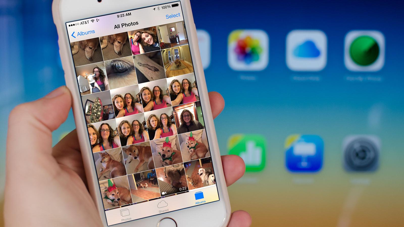 Фотогалерея в iOS 5 находится под угрозой