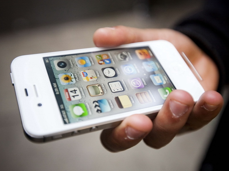 Официальные цены на iPhone 4S в России