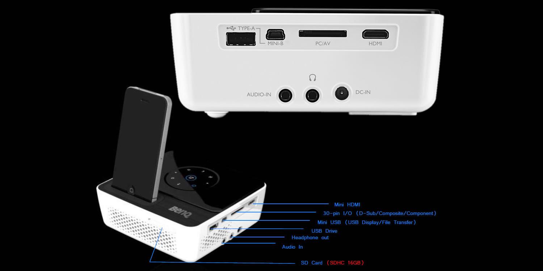 Проектор Joybee GP2 с док-станцией для iPhone