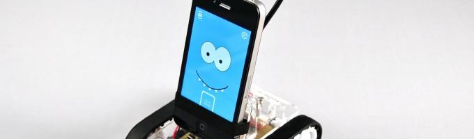Romotive сделала робота из iPhone
