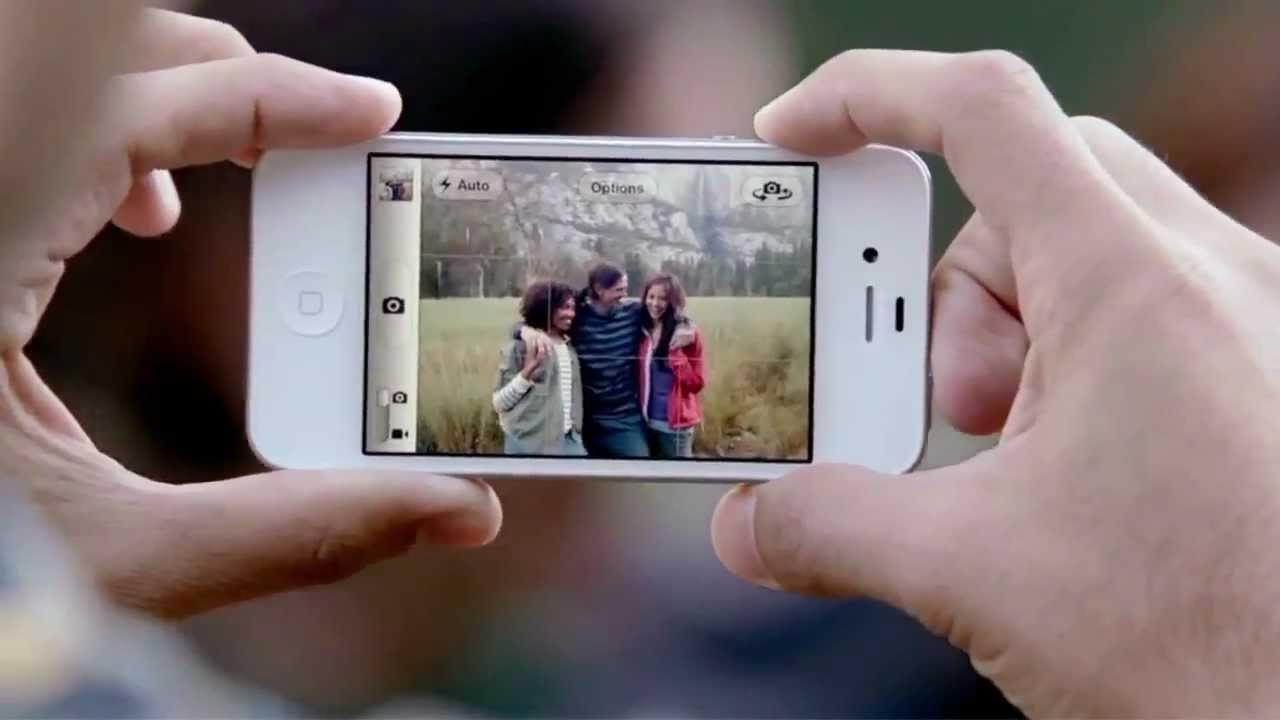 Как сделать фото на 4 айфоне