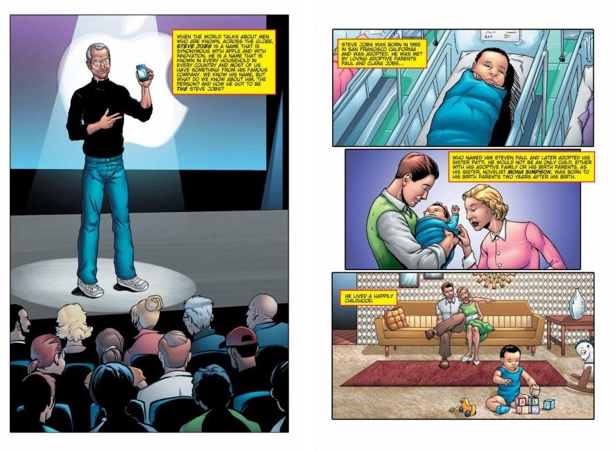Комикс о Стиве Джобсе: Steve Jobs: Co-founder of Apple