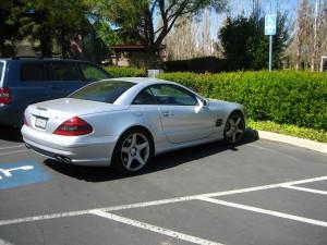 Mercedes-Benz Стива Джобса был всегда без номеров