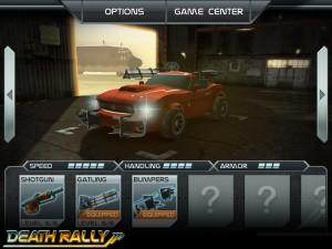 Death Rally на iPhone
