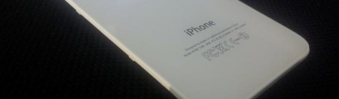 Моддинг iPhone: светящийся логотип