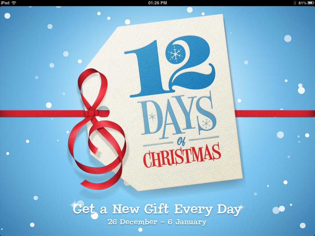 12 дней Рождества от Apple