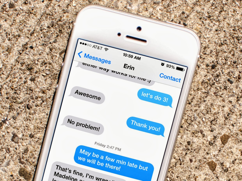 Программа iMessage для iPhone