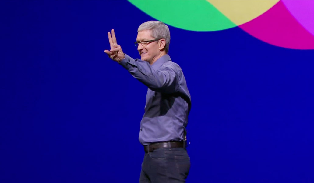 Видеозапись презентации iPhone 4S от Apple