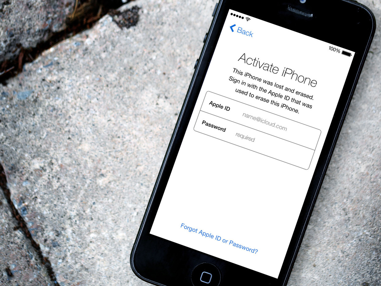 Заблокирован Apple ID на iPhone