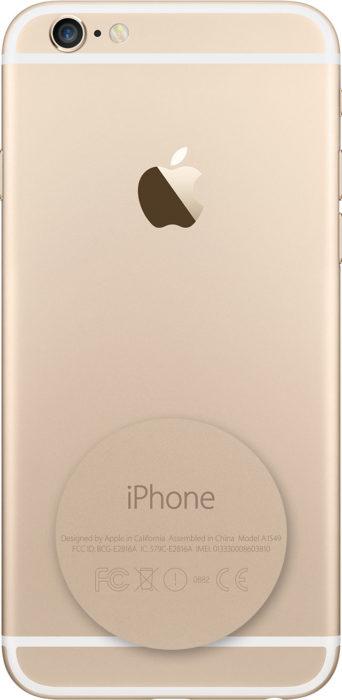 Технические данные iPhone на его задней панели