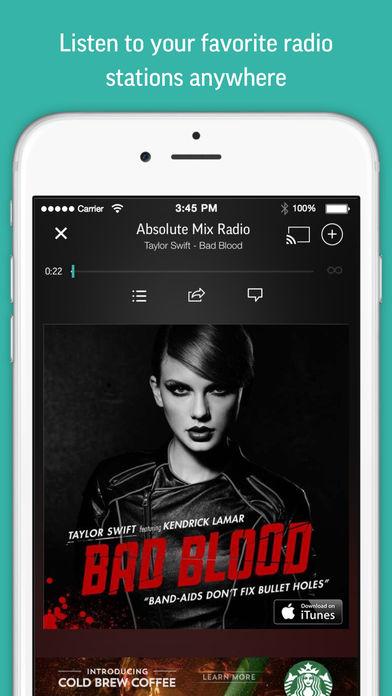 Радио в айфоне 5s
