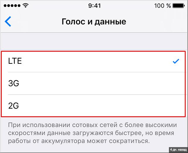 Подключение LTE