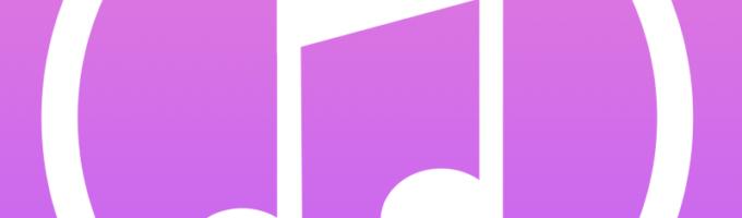 Символ iTunes - нота: миниатюра