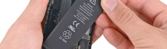 замена батарейки iPhone