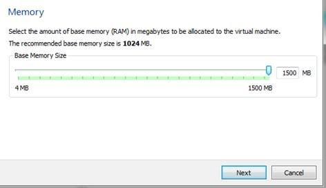Объем оперативной памяти