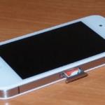 Расположение сим-карты на iPhone 5