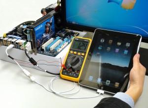 iРad подключен к компьютеру