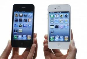 Два айфона крупным планом